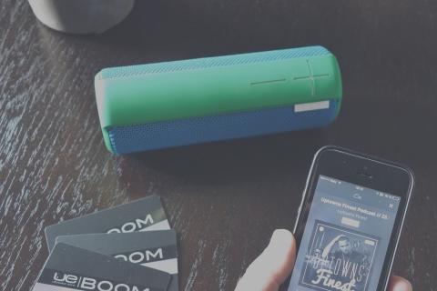 Verlosung: UE Boom Bluetooth Lautsprecher